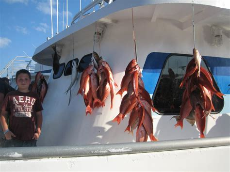 party boat deep sea fishing orange beach al deep sea party boat fishing in panama city beach 10 hour