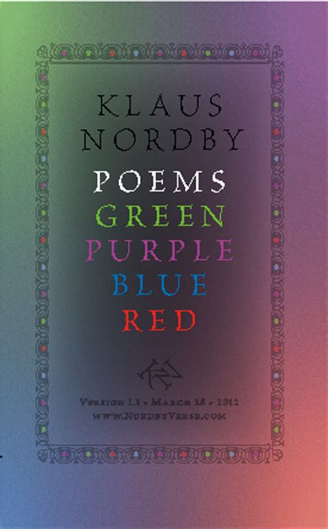 poems about the color purple book poems green purple blue hardcover 2013 edition by