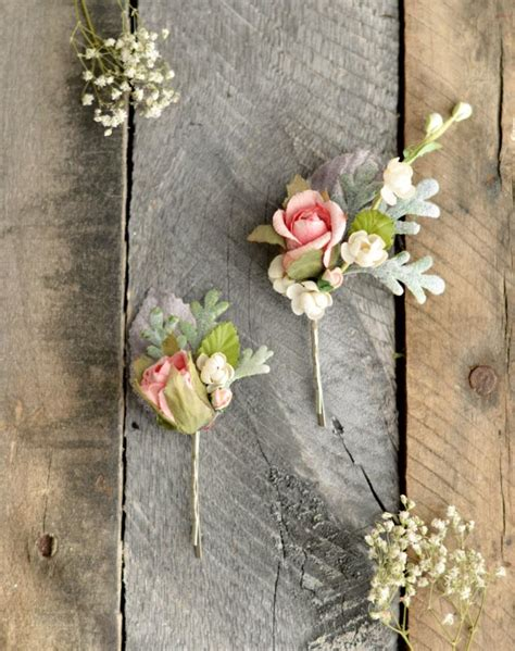 wedding hair flowers pins vintage flower hair wedding hair pins pastel