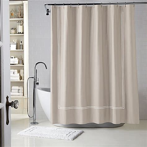 wamsutta shower curtains wamsutta 174 baratta stitch shower curtain www