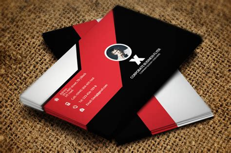 business card psd template behance 20 free black business card psd simple on behance