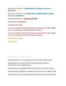 Baruch Jd Mba by Resume Dr Brandon Ericsson C P A J D M B A D D S