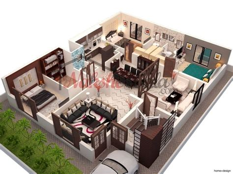 3d house plan indian home design 3d plans home design