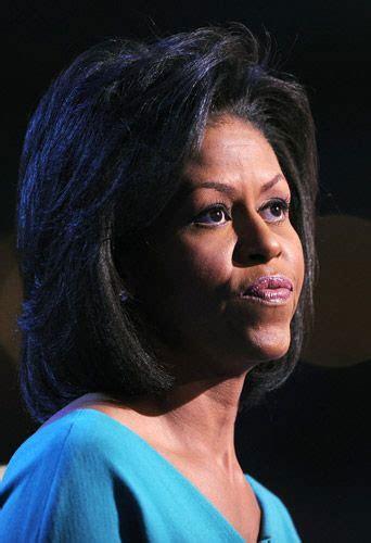 michelle obama cheveux naturel maliweb net photos michelle obama fait le buzz avec