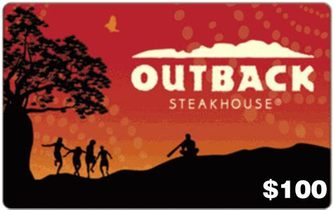 Where Can You Use Outback Gift Cards - image gallery outback steakhouse gift card
