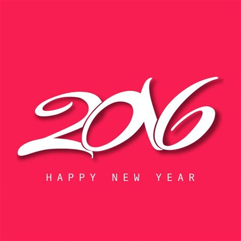 new year 2016 greeting card free new year 2016 greeting card vector free