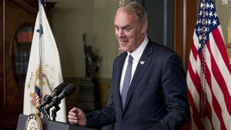 Sec Of Interior by Interior Zinke Rides A To Work