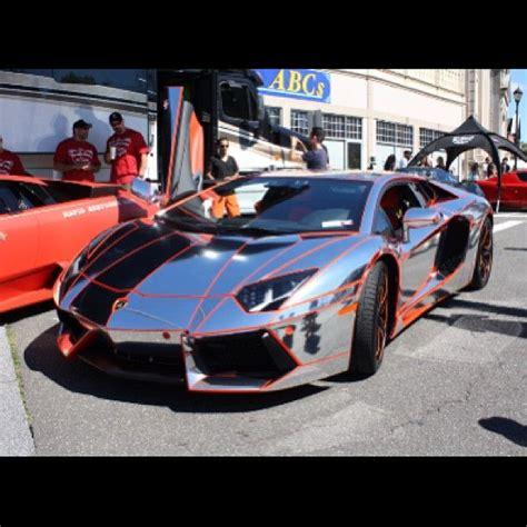 Chrome Lamborghini Aventador Chrome Lamborghini Aventador Cars