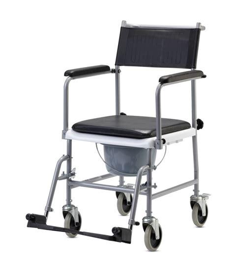 silla de ruedas  inodoro ts