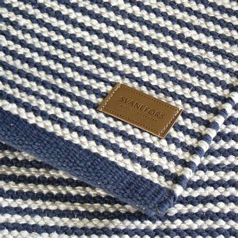 maritimer teppich teppich blau wei 223 gestreift harzite