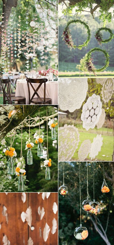 beautiful  stylish wedding hanging decorations