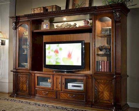 entertainment center entertainment center in traditional style mcfe8100 set