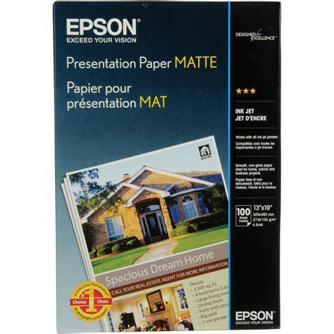 epson matte paper epson presentation paper matte archival inkjet paper