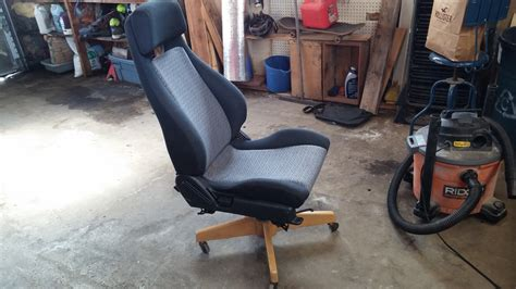 Office Chair From Car Seat by A While Ago I Saw A Post On Car Seat Office Chairs