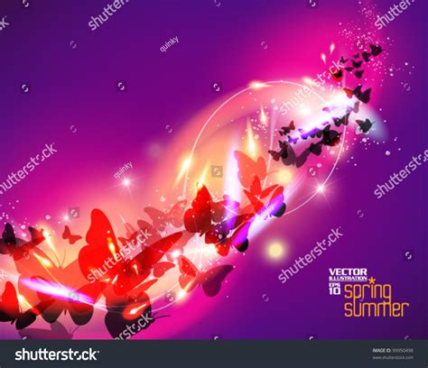 beautiful graphic design beautiful stylish digital butterfly graphic design stock