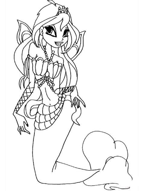 winx mermaids coloring pages winx mermaid coloring pages free printable winx mermaid