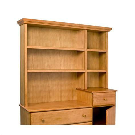 Hutch Dresser by Davinci Kalani Combo Wood Dresser Honey Oak Hutch Ebay