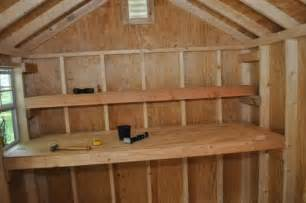 how to build shed storage shelves garden sheds
