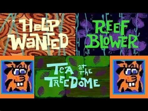 the help series 1 spongebob squarepants season 1 review help wanted reef