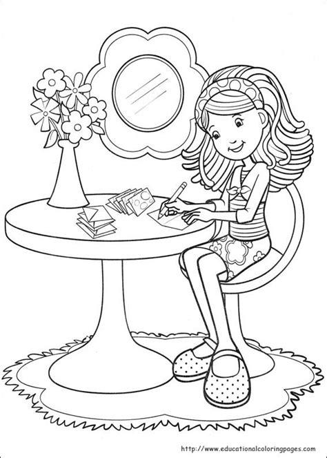 groovy girls coloring pages free for kids