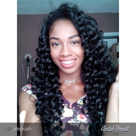 curly crochet weave with kanekalon pin by lisha on long curly hair pinterest long crochet