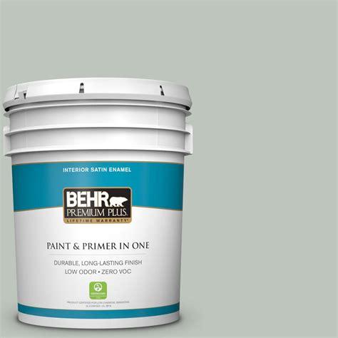 home depot 5 gallon interior paint behr premium plus 5 gal 700e 3 contemplation zero voc