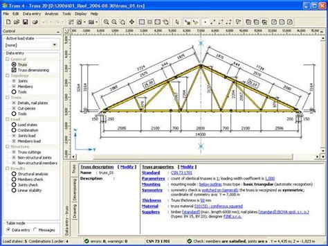 Free House Plan Designer roof truss design software steel roof truss design