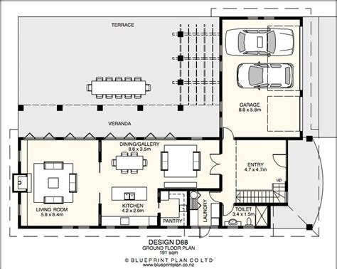 Two Bedroom House Plans Nz Images 2 Storey House Plans Nz
