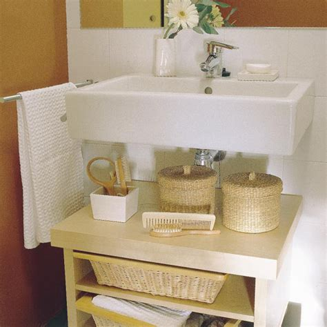 Tiny Bathroom Storage Ideas by Ideas For Organization Of Space In The Small
