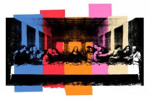 Printed Wall Murals the last supper mural 183 flavor paper