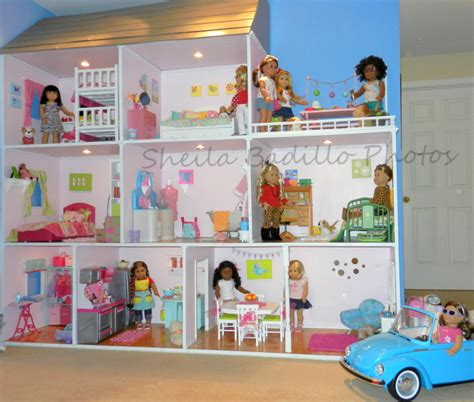 how to make an 18 inch doll house american girl doll play amazing american girl doll house