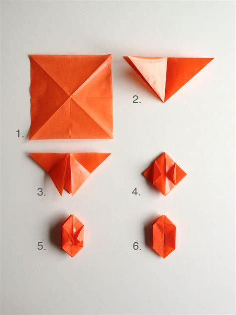 Easy Origami Pumpkin - diy origami lights handmade