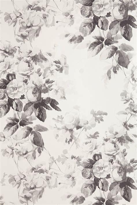 wallpaper grey roses smoky rose wallpaper anthropologie