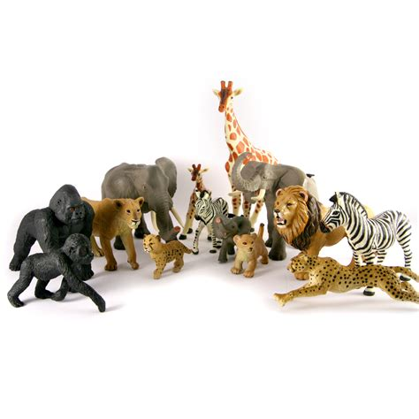 Animal Set jungle animal families set the animal store