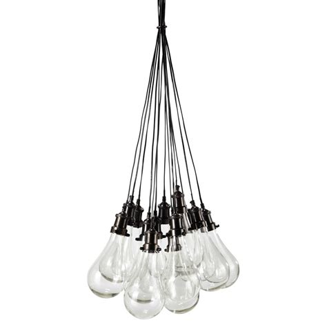 maison du monde suspension suspension en verre d 45 cm diderot maisons du monde
