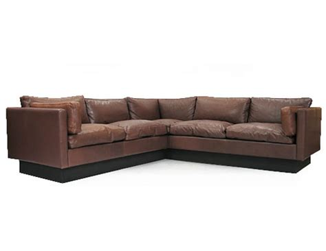 orange and brown sofa leather goose corner sofa orange and brown