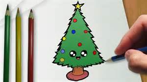 c 243 mo dibujar un 225 rbol de navidad del kawaii youtube