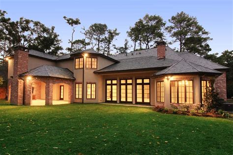 country home in houston tx homes of the rich