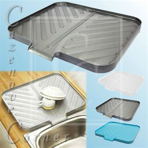 kitchen sink drainer trays worktop drainer tray space saving draining board sink drainer belfast sink ebay