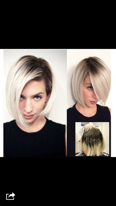 blonde bobs with dark roots 22 best images about shadow root on pinterest short