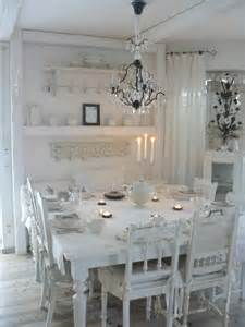 Shabby Chic Dining Rooms 33 Inviting And Vintage Dining Rooms And Zones Digsdigs