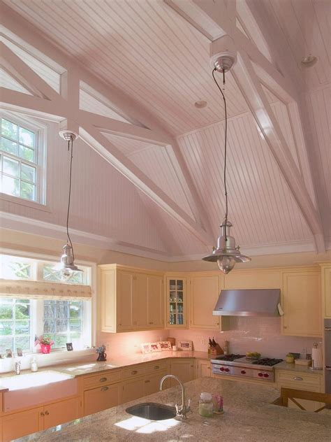 hanging kitchen cabinets from ceiling exposed beam ceiling kitchen kitchen traditional with two
