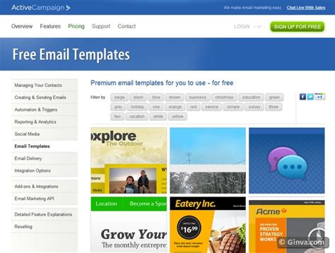 free newsletter templates for email 10 excellent websites for downloading free html email