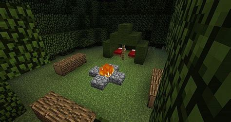 House And Home Design Blogs Campsite Minecraft Project