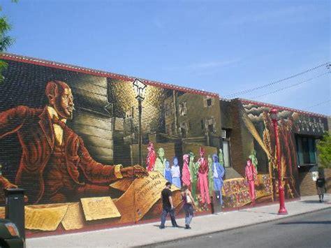 Wall Map Murals un mural picture of mural arts program of philadelphia