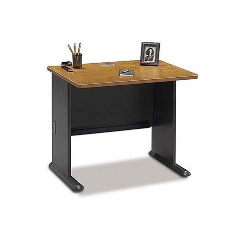 Bush Series A Corner Desk Bush Business Series A Corner Desk And Hutch In Cherry Bsa004 574