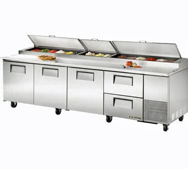delfield pizza prep table with drawers true pizza prep table tpp 119d 2 2 drawers