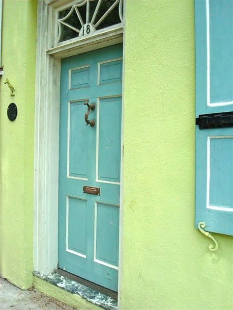 lime green door love the lime green and aqua i really just want to paint