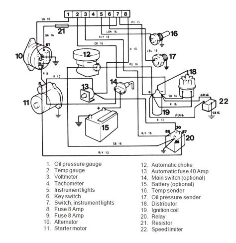 volvo penta wiring diagram alternator wiring diagram