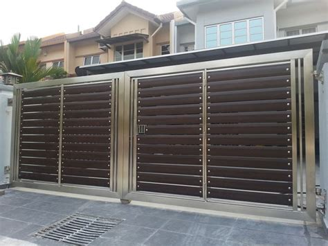 stainless steel gate  manufactured  welded